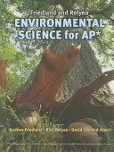 Friedland and Relyea Environmental Science for AP  Book