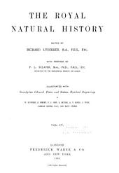 The Royal Natural History: Volume 4