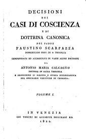 Decisioni dei Casi di Coscienza e di Dottrina Canonica
