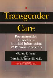Transgender Care Book PDF