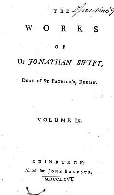 The Works of Dr  Jonathan Swift     PDF