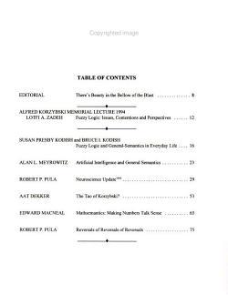 General Semantics Bulletin PDF
