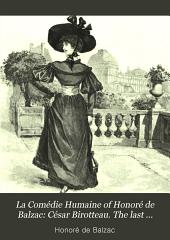 César Birotteau. The last incarnation of Vautrin. Nuringen and Co., Bankers. Pierre Grassou