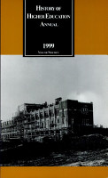 History of Higher Education Annual  1999  Southern Higher Education in the 20th Century PDF