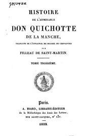 Histoire de l'admirable Don Quichotte de la Manche: Volume2