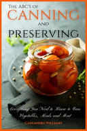 The ABC S of Canning and Preserving PDF