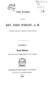 The Works of the Rev. John Wesley: Volume 1