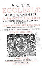 Acta Ecclesiae Mediolanensis