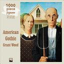 Grant Wood   American Gothic Jigsaw