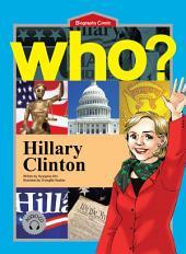 세계 위인전 Who? 4권 Hillary Clinton