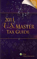 U S  Master Tax Guide 2011