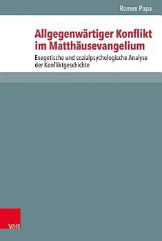 Allgegenw  rtiger Konflikt im Matth  usevangelium PDF