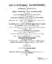 Encyclopaedia Londinensis: Volume 21