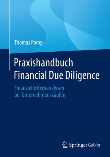 Praxishandbuch Financial Due Diligence PDF