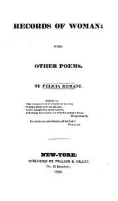 Records of Woman: With Other Poems