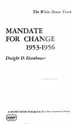 Mandate for Change, 1953-1956
