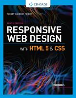 Responsive Web Design with HTML 5   CSS PDF