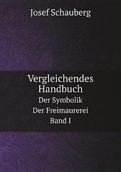 Vergleichendes Handbuch: Band 1