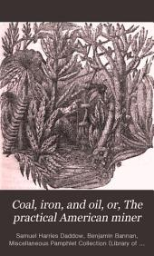 Coal, Iron, and Oil, Or, The Practical American Miner: A Plain and Popular Work on Our Mines and Mineral Resources, and Text-book Or Guide to Their Economical Development