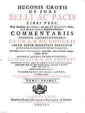 De Iure Belli Ac Pacis: Volume 1