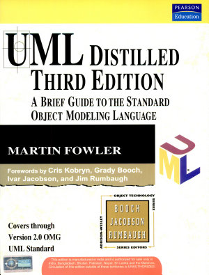 Uml Distilled  A Brief Guide To The Standard Object Modeling Language  3 E PDF