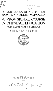 School Documents [of The] Boston Public Schools
