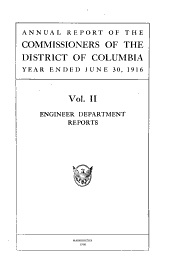 Report of the Government of the District of Columbia: Including Miscellaneous Reports, Volume 2