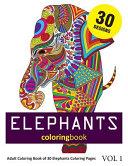 Elephants Coloring Book