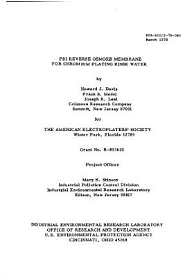 EPA 600 2 PDF