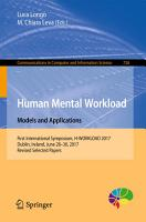 Human Mental Workload  Models and Applications PDF