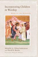 Incorporating Children in Worship PDF