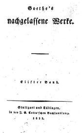 Goethe's Werke: Band 51