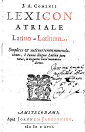 Lexicon Atriale latino-latinum