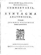 Commentaria, In Syntagma Anatomicum, Viri Clarissimi Joannis Veslingii