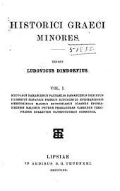 Historici Graeci minores: Volume 1