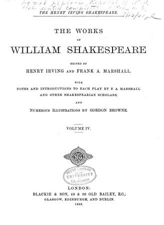 The Works of William Shakespeare  King Henry V  The merry wives of Windsor  Much ado about nothing  As you like it  Twelfth night  or  What you will PDF