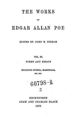 Poems and Essays  Including Eureka  Marginalia Etc  Etc PDF