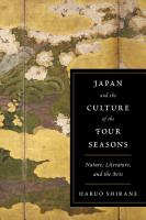 Japan and the Culture of the Four Seasons PDF