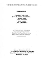 Certain Unfinished Mirrors from Belgium, the Federal Republic of Germany, Italy, Japan, Portugal, Turkey, and the United Kingdom: Determination of the Commission in Investigation No. 701-TA-273 (preliminary) Under the Tariff Act of 1930, Together with the Information Obtained in the Investigation, Determinations of the Commission in Investigations Nos. 731-TA-320 Through 325 (preliminary) Under the Tariff Act of 1930, Together with the Information Obtained in the Investigations