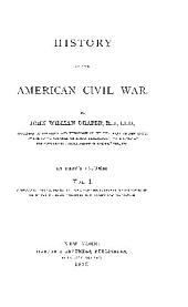 HISTORY OF THE AMERICAN CIVIL WAR.