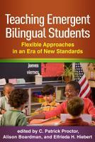 Teaching Emergent Bilingual Students PDF