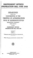 Independent Offices Appropriation Bill for 1948 PDF