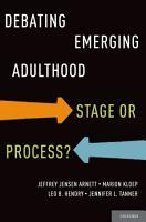 Debating Emerging Adulthood PDF