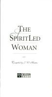 The Spirit Led Woman PDF