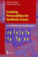 Creating Personalities for Synthetic Actors PDF