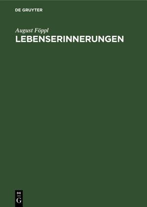 Lebenserinnerungen PDF
