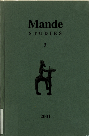 Mande Studies PDF