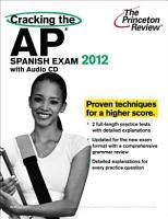 Cracking the AP Spanish Exam with Audio CD  2012 Edition PDF