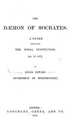 The Daemon of Socrates