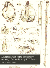 An introduction to the comparative anatomy of animals, tr. by R.T. Gore. 2 vols. [and] Plates